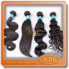 Pode ser o cabelo brasileiro de Remy do Virgin do ferro