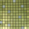 Mosaico fatto a mano del metallo dell'acciaio inossidabile delle mattonelle di mosaico della decorazione della priorità bassa