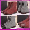 2014 Women를 위한 Most Fashion Genuine Leather High Heel Boots. 섹시한 숙녀 웜 부팅 (LB003)
