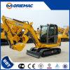 4 excavatrice chinoise célèbre d'excavatrice de tonne Xe40 mini à vendre