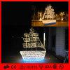 暖かく白い出荷のボートの屋外の装飾のモチーフの庭ライト