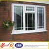 Dekoratives Fenster niedriger Preis-Umweltstrangpresßling PVC-Window//Anti-Theft