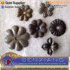 Gatter-Dekoration-dekorative stempelnde Stahlblume