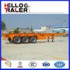 De Fabrikant van de Aanhangwagen van China 20 voet & 40FT de Aanhangwagen van het Skelet