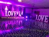 Danza negra Floor60X60cm de la superficie LED