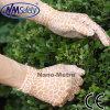 Nmsafety напечатало перчатку работы покрытых повелительниц PU садовничая