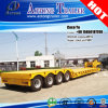4 assi 80tons Detachable Gooseneck Lowbed Trailer