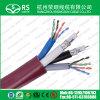 Câble de RG6 TVHD avec CAT6 le câble siamois Ce/RoHS