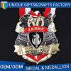 Medaglia all'ingrosso poco costosa su ordinazione del metallo dell'oro del premio 3D di sport del ricordo