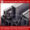 uso retangular da tubulação de aço de 200X50X8mm para a fabricação da máquina
