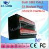 USB 32 Ports GM/M Modem avec 32 la carte SIM Slot, 32port Modem Linux