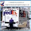 Courier Exprtess de Federal Express de courrier express d'expéditeur de cargo de Chine vers la Zambie