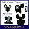 IP67 WiFi LED de luz para cámara de seguridad PIR Sensor de luz