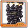 자유로운 Wave 3A 인도 Loose Wave Virgin Human Hair
