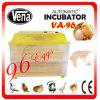 96 poulet Eggs Automatic Egg Incubator à vendre