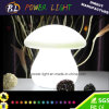 Jardim Lamp do diodo emissor de luz de Shape do cogumelo com 16 Colors Changing
