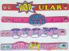 PVC Rubber Bracelet de Soft dos cabritos para Business Gift (BR013)