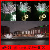 Мотив Flower Outdoor Street Decoration Lotus Light СИД 3D