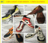 Разделенные профессионалом ботинки безопасности выбитой кожи (FCD-005)