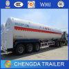 Fabrikant 52.6cbm van China de Aanhangwagen van de Tank van het LNG van 3 Assen voor Verkoop