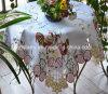 닭 디자인 부활절 테이블 덮개 St120