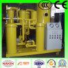 Machine d'épurateur d'huile de graissage de vide de Tya de série