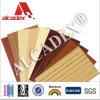 Le panneau 2014 composé en aluminium extérieur en bois le meilleur marché
