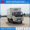 Foton 4X2 kühlte Gefriermaschine-LKW-kleinen 5tons gekühlten LKW