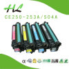 Kompatibles Color Toner Cartridge für Hochdruck 504A/CE250-253A