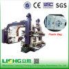 4 de Machine van de Druk van de Zak van Flexo LDPE/HDPE van de Hoge snelheid van de kleur