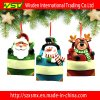 Santa, pupazzo di neve e Reindeer Promotional Christmas Ornament Gift