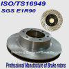 E1r90 ISO/Ts16949の自動車部品ブレーキ回転子KIA車