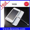 Doppel-SIM Telefon des Java-Viererkabel-Band-mit dem Doppelschieben QWERTY (N920)