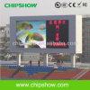 Chipshow P20 LED al aire libre a todo color que hace publicidad de la visualización
