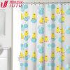 Cortina de chuveiro bonita das cortinas