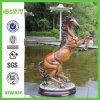 Ornement animal de maison de cheval de résine (NF86024)
