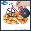 Selettore rotante dell'utensile della cucina dell'affettatrice dell'alimento della taglierina della pizza della bicicletta della strada dell'acciaio inossidabile