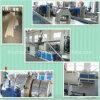 Plastikextruder der Belüftung-Rohr-Produktions-Strangpresßling-Maschine