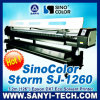 Sinocolor Storm SJ-1260 Eco Solvent Printer (3.2m Epson DX7 Headの1440年のdpi)