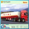 3 assen 45cbm Fuel/Oil Aanhangwagen van de Vrachtwagen van de Tank van het Vervoer de Semi