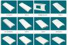 Qualité Aluminium Profile pour Roller Shutter (Hf-089)
