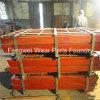 Desgaste de la trituradora de quijada Mn13cr2 - placa resistente de la quijada