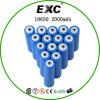Les banques d'alimentation et d'éclairage LED rechargeable Li-ion 18650 3.7V 2200mAh