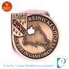 De In het groot Aangepaste Antieke Medaille van uitstekende kwaliteit van de Herinnering van het Metaal van het Gouden Plateren 3D in Koper