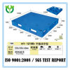 pálete industrial Stackable dos produtos 1200X1000 plásticos de superfície contínuos