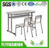 금속 프레임 나무로 되는 두 배 학교 의자 (SF-16D)
