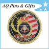 Navy reale Challenge Coin con Glod Plating