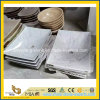 Guangxi White/Bianco Carrara White Marble Square Sink для ванной комнаты