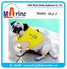 Куртка заплывания собаки цвета желтого цвета пены PVC