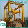 Recipiente de pórtico Crane-Rubber Tire Pórtico Crane for Container Lifting